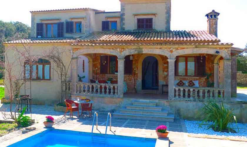 Blick auf die Finca Mallorca bei Arta PM 5490