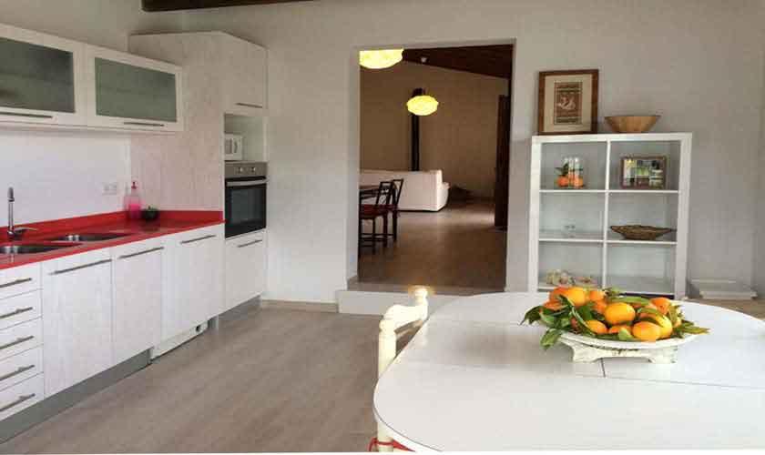 Küche Finca Mallorca bei Arta PM 5490