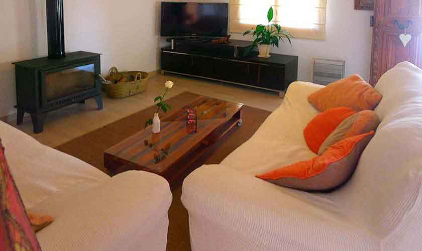 Wohnraum Finca Mallorca bei Arta PM 5490