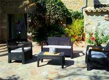 Terrasse 3 Pool-Finca Mallorca Nordosten PM 5492