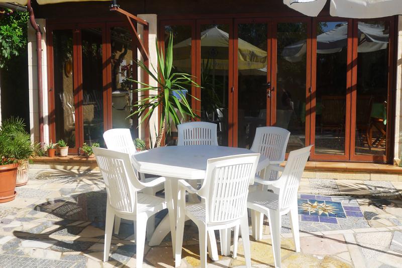 Terrasse Finca Mallorca PM 5493 für 2 Personen