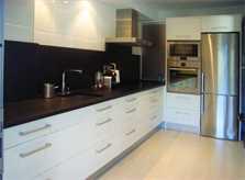 Küche Ferienhaus mit Pool in Cala Ratjada PM 555