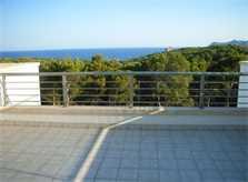 Blick von der Dachterrasse Ferienhaus Cala Ratjada PM 555 für 6 Personen