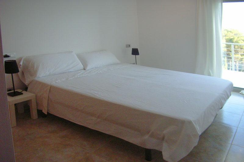 Schlafzimmer Ferienhaus mit Pool in Cala Ratjada PM 555