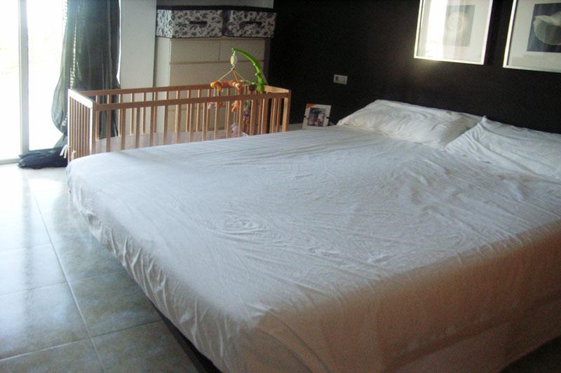 Schlafzimmer 3 Ferienhaus mit Pool in Cala Ratjada PM 555