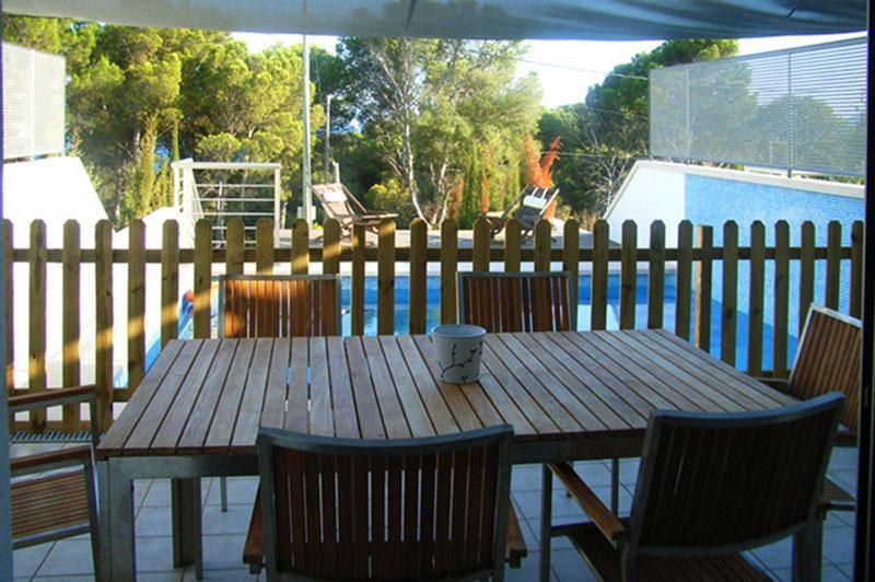 Pool und Terrasse Ferienhaus Cala Ratjada PM 555 für 6 Personen