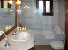 Badezimmer 2 Finca Mallorca PM 572 für 6 Personen