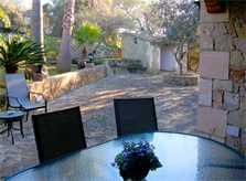Terrasse und Esstisch Finca Mallorca PM 572 für 6 Personen