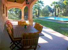 Terrasse und Pool Finca Mallorca Arta PM 572