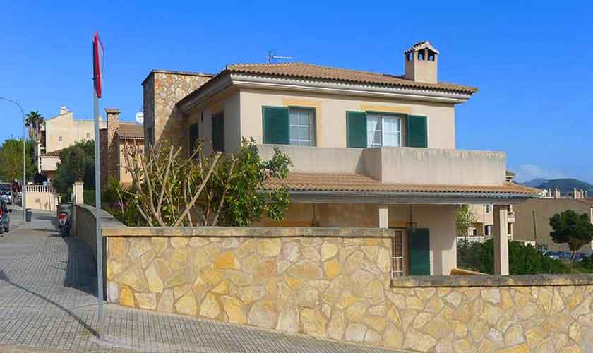 Front Ferienhaus Mallorca PM 5880