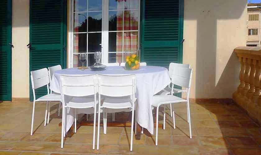 Terrasse Ferienhaus Mallorca PM 5880