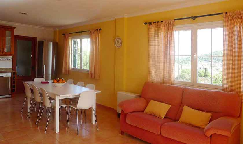 Wohnraum Ferienhaus Mallorca PM 5880