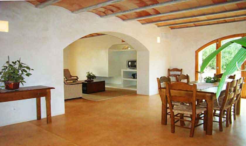 Wohnraum Ferienhaus Mallorca PM 5943