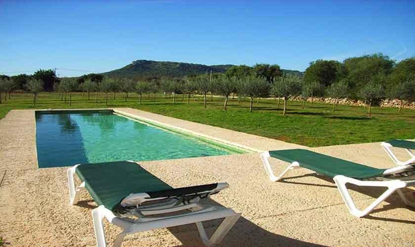Poolblick Finca Mallorca PM 5943
