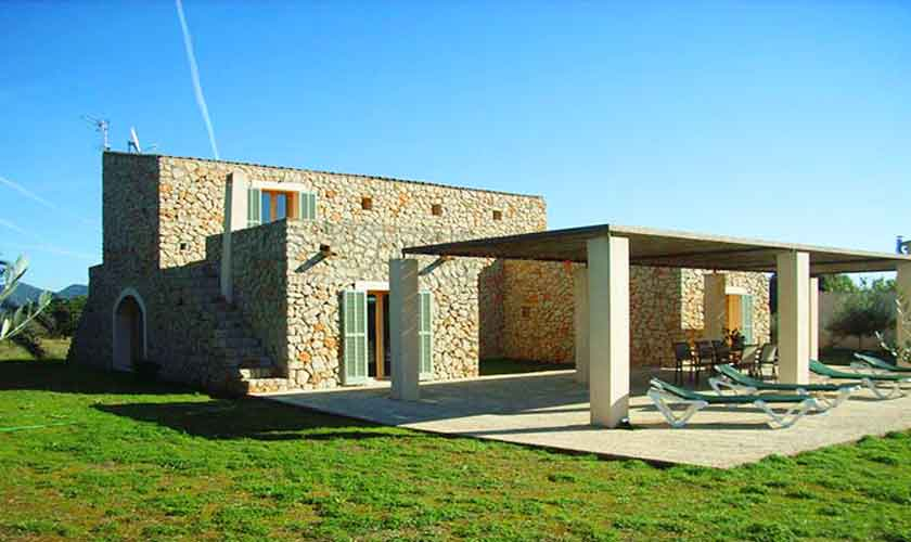 Blick auf die Finca Mallorca PM 5943