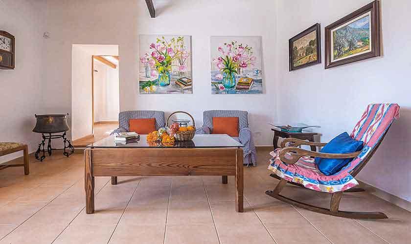 Wohnraum Finca Mallorca 10 Personen PM 6012