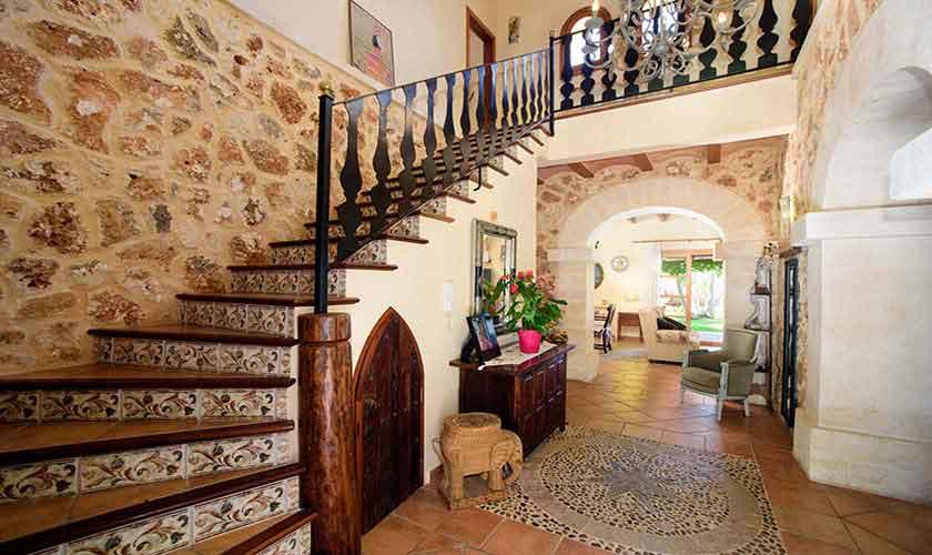 Treppe Finca Mallorca 8 Personen PM 6013