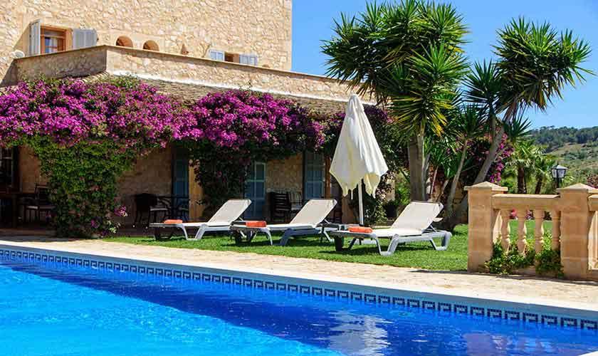 Poolblick Finca Mallorca 8 Personen PM 6013