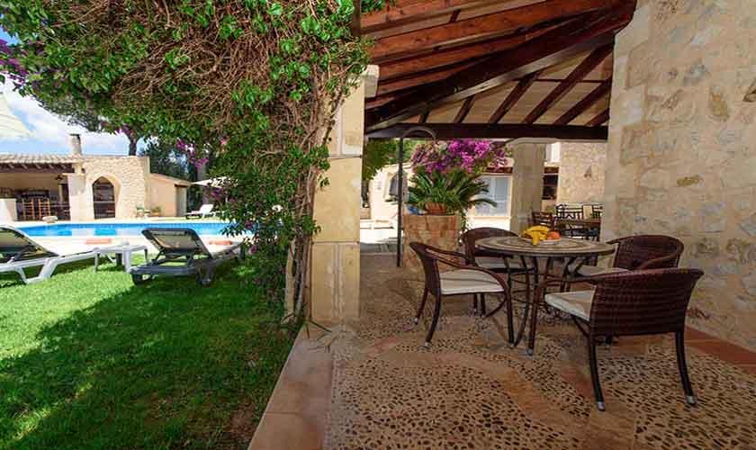 Terrasse Finca Mallorca 8 Personen PM 6013