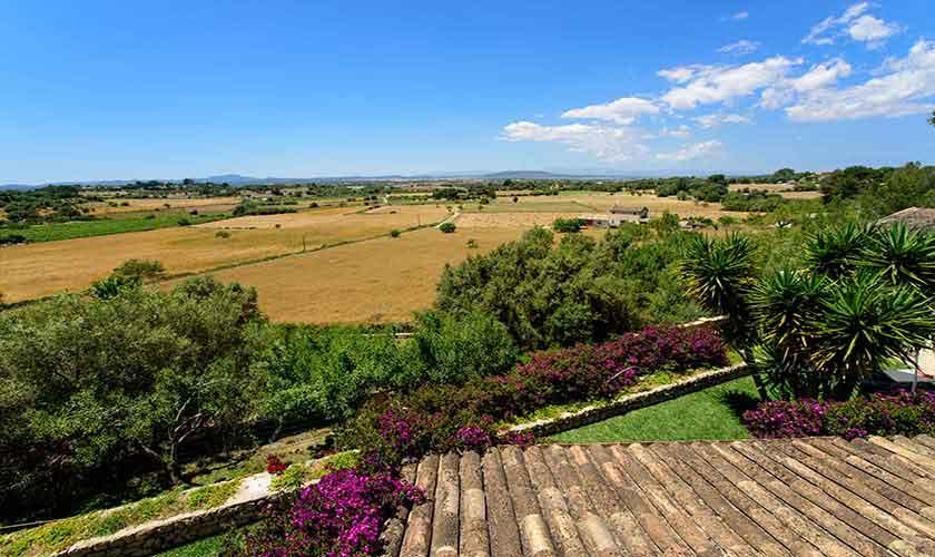 Landschaft Finca Mallorca 8 Personen PM 6013