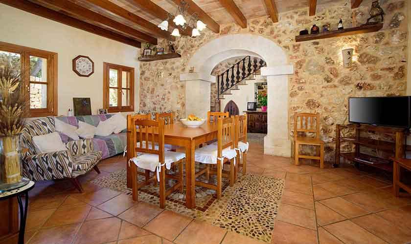 Wohnraum Finca Mallorca 8 Personen PM 6013