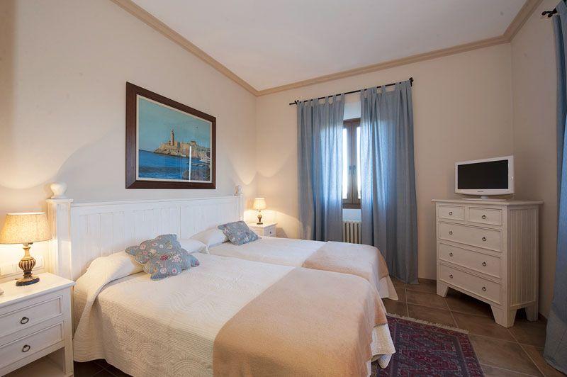 Schlafzimmer Finca Mallorca PM 6015 für 12 Personen