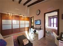 Schlafzimmer 3b Finca Mallorca PM 6015 für 12Personen