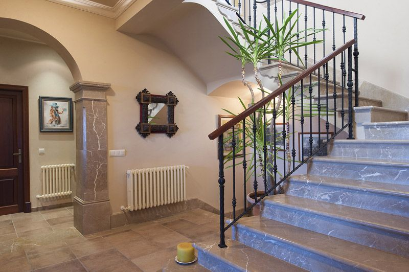 Treppenhaus Ferienfinca Mallorca PM 6015 für 12 Personen