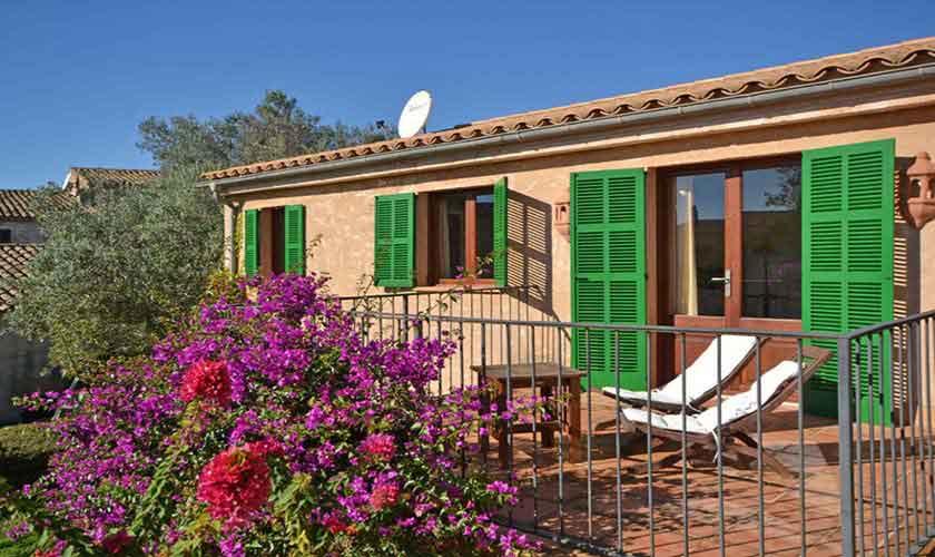 Obere Terrasse Finca Mallorca Osten PM 6020