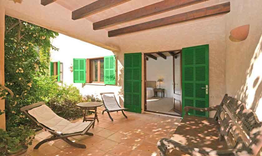 Terrasse Finca Mallorca Osten PM 6020