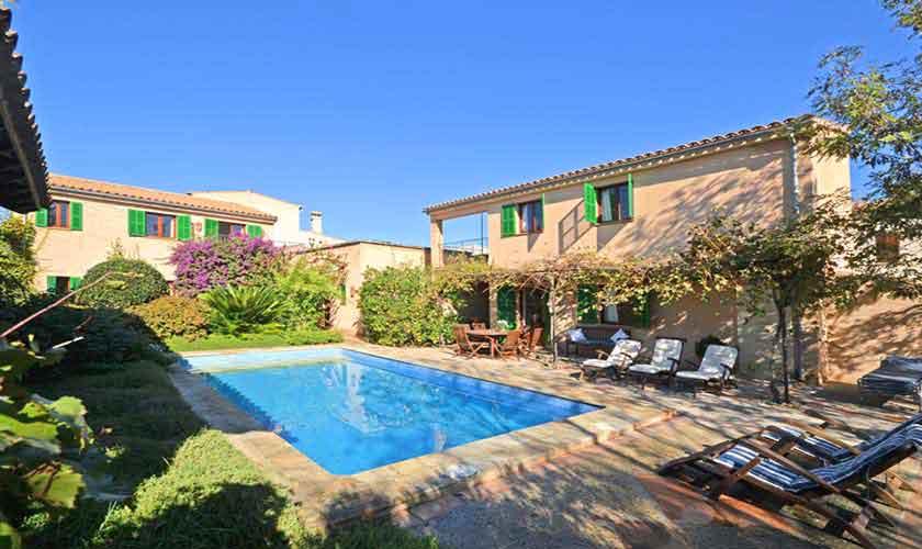 Pool und Finca Mallorca Osten PM 6020