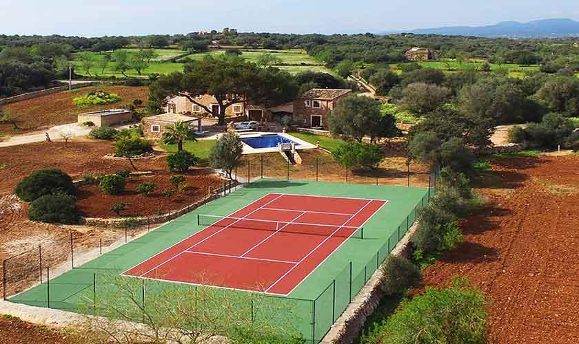 Tennisplatz Finca Mallorca PM 6056