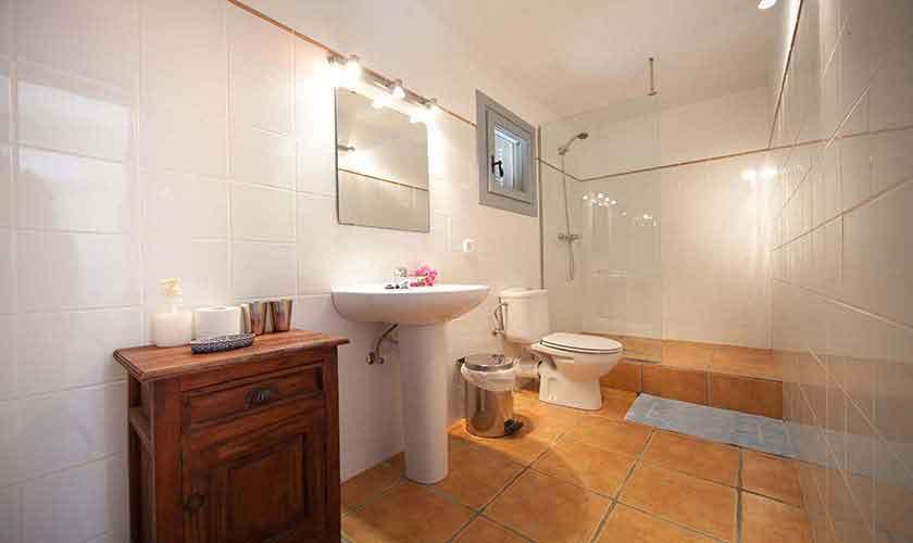 Badezimmer Ferienvilla Mallorca 10 Personen PM 6058