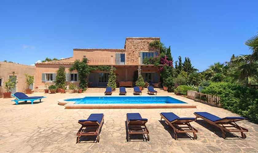 Pool und Ferienvilla Mallorca 10 Personen PM 6058