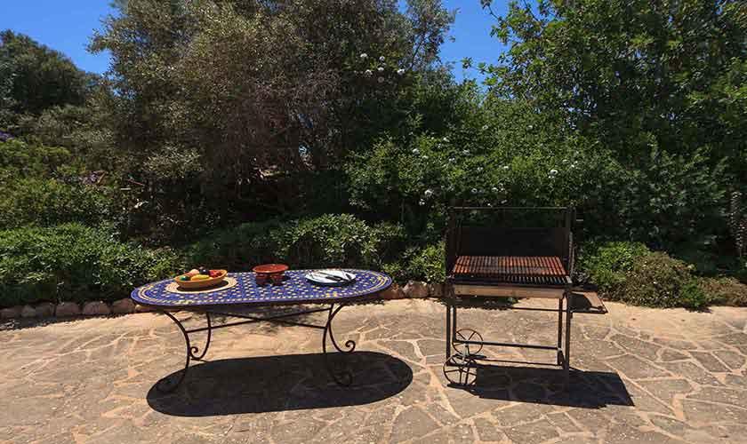 Terrasse Ferienvilla Mallorca 10 Personen PM 6058