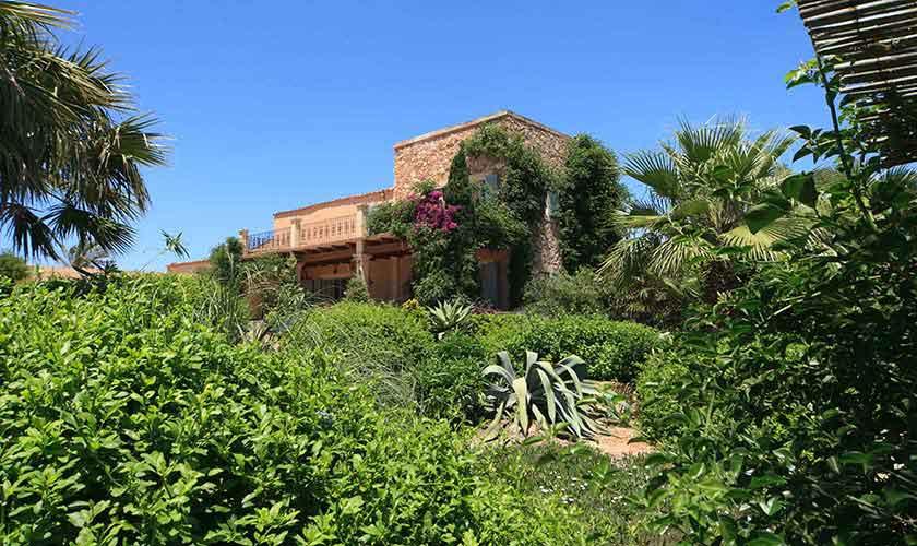 Blick auf die Finca Mallorca 10 Personen PM 6058