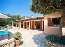 Blick auf die Finca Mallorca Südosten PM 6065 für 8 Personen