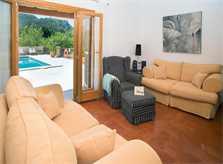 Wohnraum Ferienfinca Mallorca Südosten PM 6065 für 8 Personen