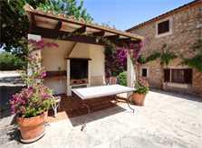 Barbecue Finca Mallorca Südosten mit Pool und Tennisplatz PM 6074