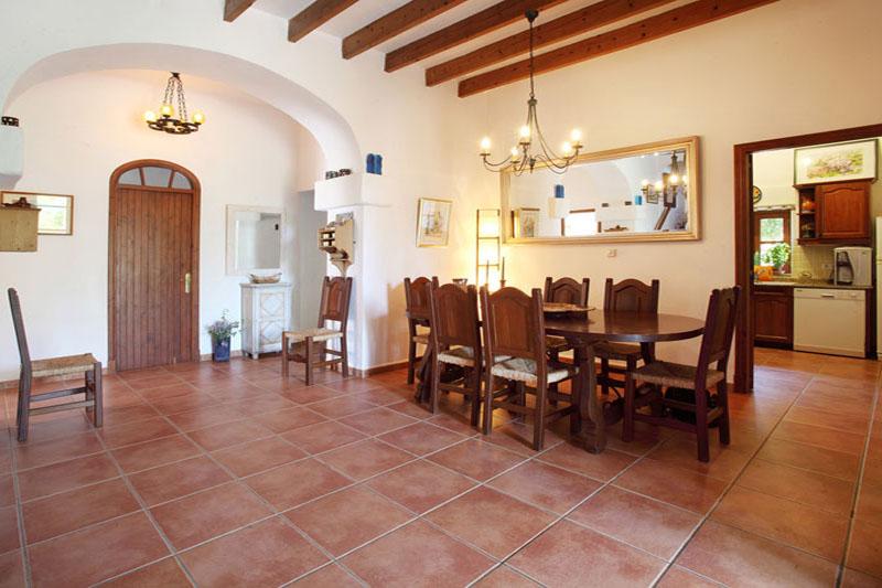 Essplatz Finca Mallorca Südosten PM 6074