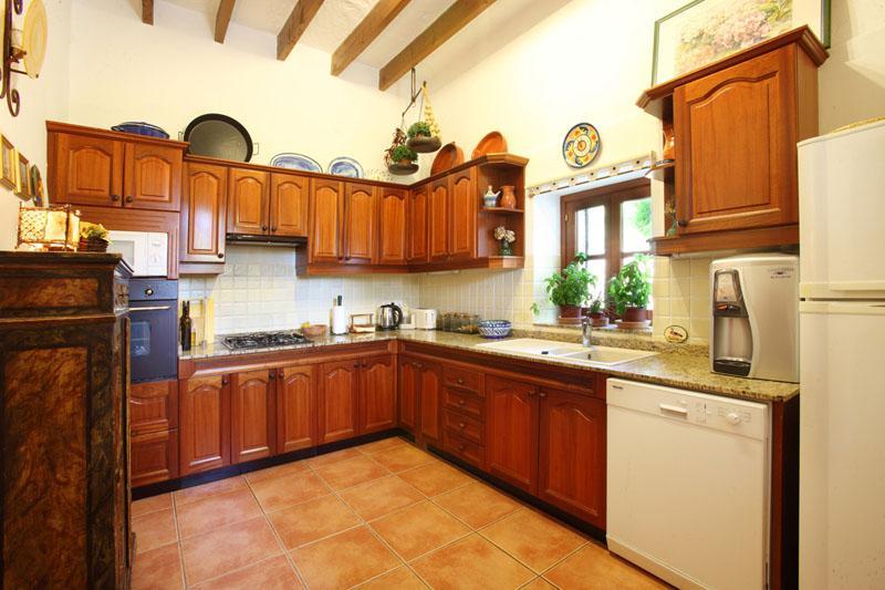 Küche Ferienfinca Mallorca Südosten PM 6074 für 10 - 11 Personen