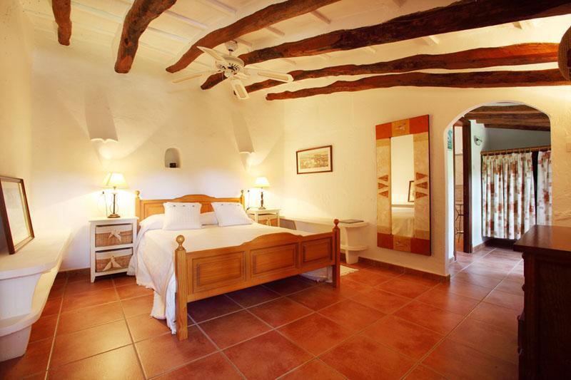 Schlafzimmer Finca Mallorca Südosten mit Pool PM 6074