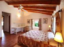 Schlafzimmer 3 Finca Mallorca Südosten mit Pool PM 6074