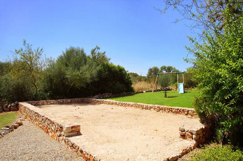 Spielplatz Finca Mallorca Südosten mit Pool und Tennisplatz PM 6074