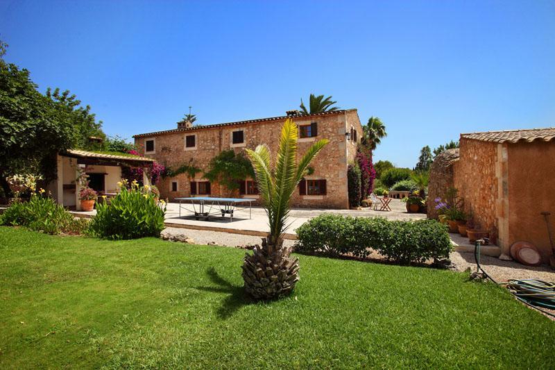 Tischtennis Finca Mallorca Südosten mit Pool und Tennisplatz PM 6074