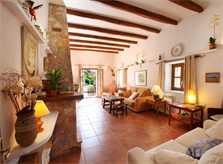 Wohnraum 3 Ferienfinca Mallorca Südosten PM 6074 für 10 - 11 Personen