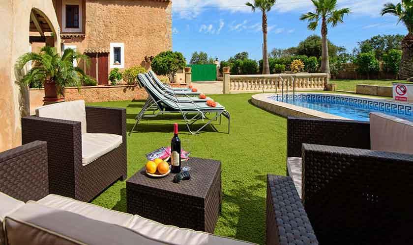 Terrasse Finca Mallorca Pool PM 6098