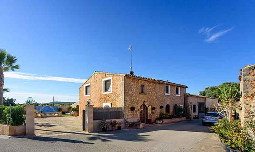 Blick auf die Finca Mallorca PM 6098
