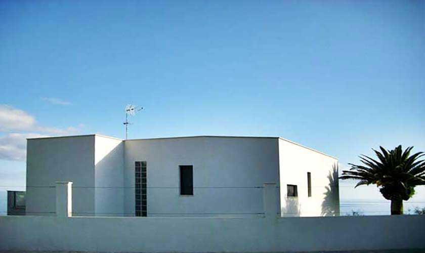 Blick auf die Ferienvilla Mallorca PM 6250
