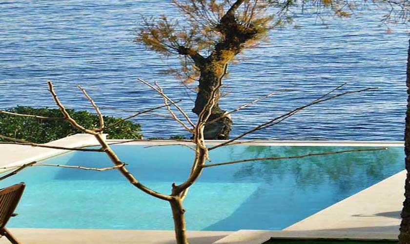 Pool- und Meerblick Ferienvilla Mallorca PM 6250